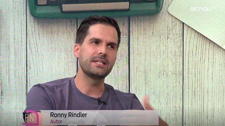 Ronny Rindler im Interview bei schauLEBEN