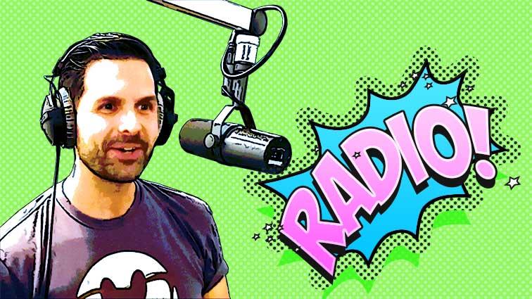 Krimiautor Ronny Rindler Radio-Interview bei Radio Max